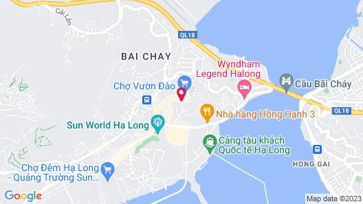 The Bay - Ha Long Homestay Map