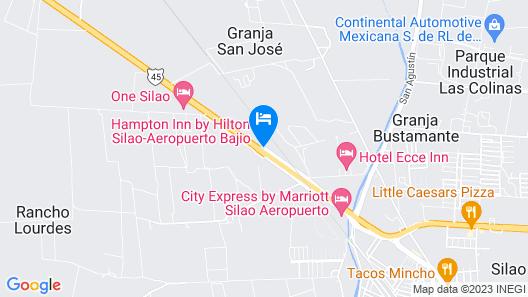 Hampton Inn by Hilton Silao-Aeropuerto Bajio Map