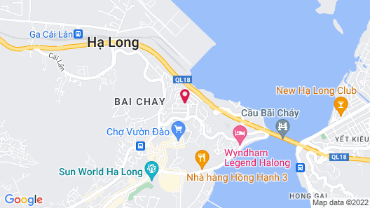 D'Lioro Hotel Map
