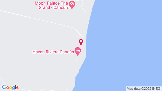 Haven Riviera Cancun Resort & SPA All Inclusive- Adults Only Map