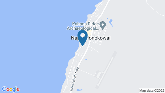 Kahana Falls Maui Map