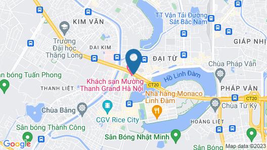 Muong Thanh Grand Hanoi Hotel Map