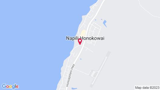 Sands of Kahana Map
