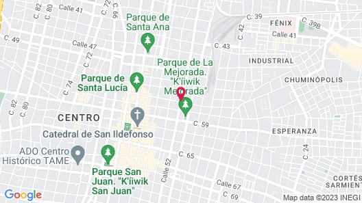 Villa Orquidea Boutique Hotel Map