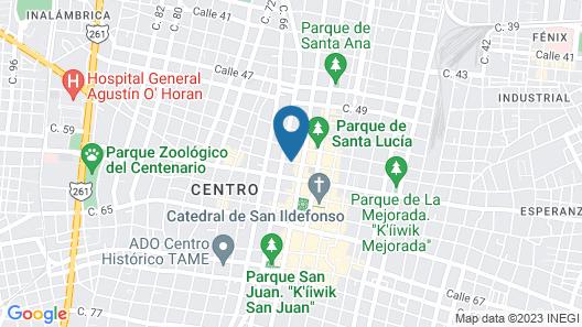 Gamma Mérida El Castellano Map