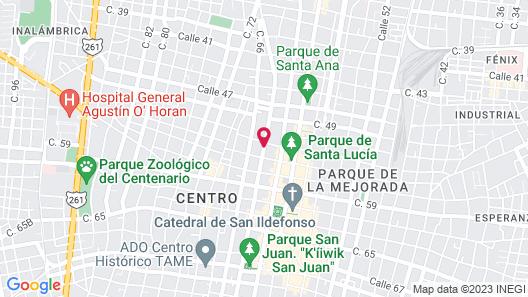 Hotel María Jose Map