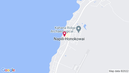 Royal Kahana Maui by Outrigger Map