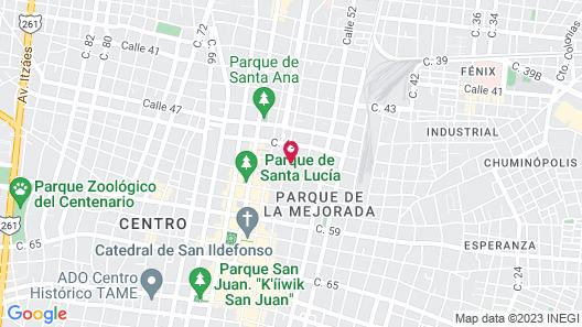 Hotel Del Peregrino Map