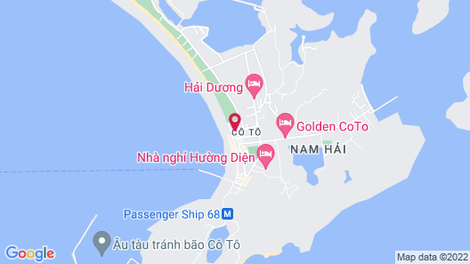 Hoang Trung Co To Hotel Map