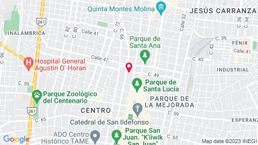 Hotel Marionetas Map