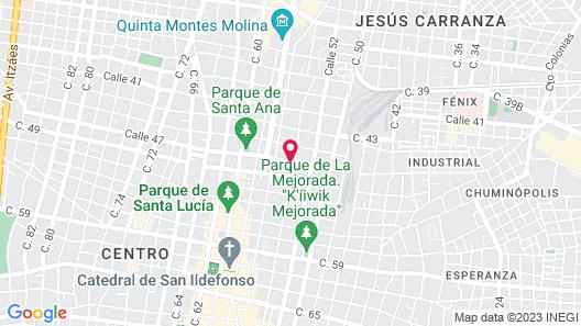 Casa Lecanda Boutique Hotel Map