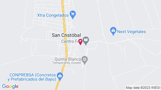 Hotel Hacienda San Cristobal Map