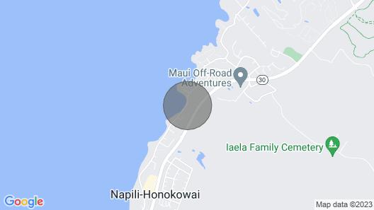 Maui Beach House Map