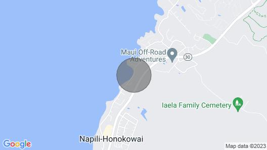 Maui Beach House / Maui Beach B&B Map