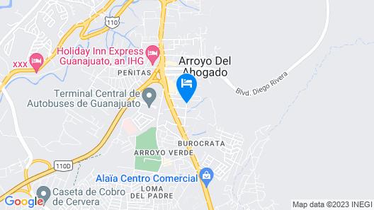 Casa Palmas Map