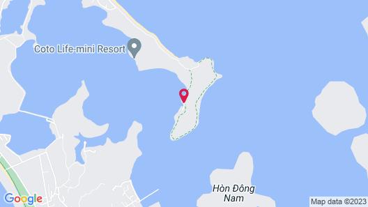 Thuy Hoang Resort Map