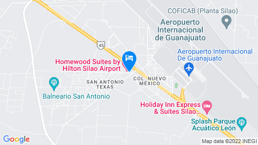 Homewood Suites By Hilton Silao Airport Map
