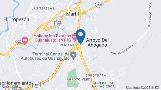 Gran Plaza Hotel & Convention Center Map