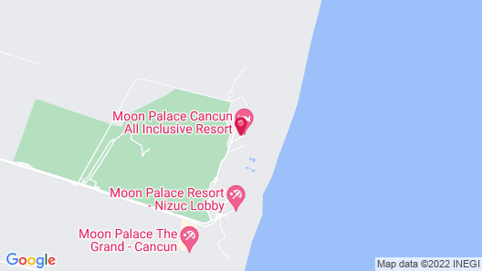 The Grand at Moon Palace - All Inclusive Map