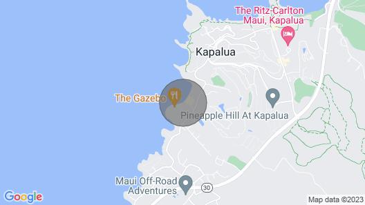 Romantic Beachfront Resort Map