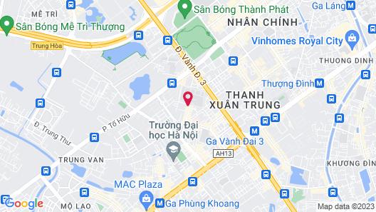 OYO 1114 Lucky Hotel Map