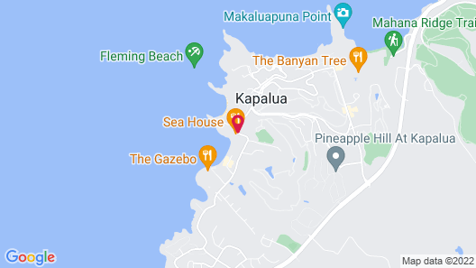 Napili Kai Beach Resort Map