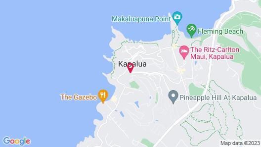 Kapalua Villas Maui Map