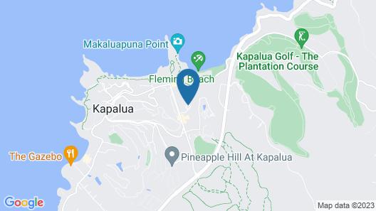 The Ritz-Carlton, Kapalua Map