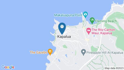 Montage Kapalua Bay Map