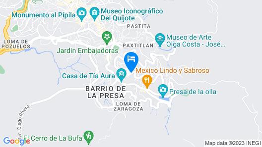 La Cañada Map