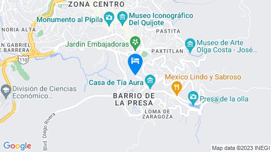 Real de la Presa Map