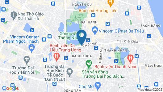 Parkside Sunline Hotel Map