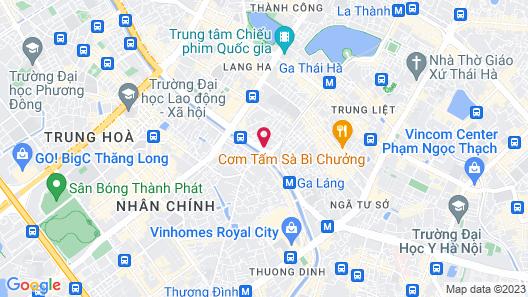 OYO 599 Tay Do Hotel Map