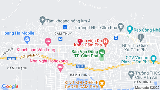 Hai Yen Luxury Hotel Map