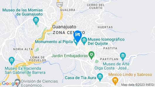 Hospederia Del Truco 7 Map