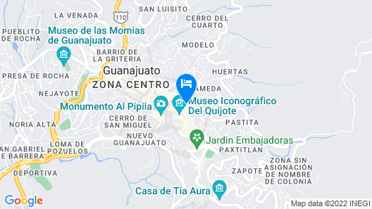 Casa De Pita Map