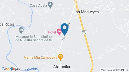 Hotel Atotonilco El Viejo Map