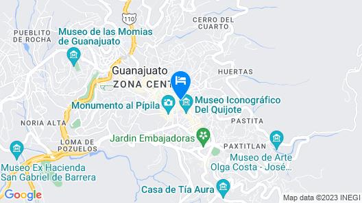 Hotel Posada Santa Fe Map