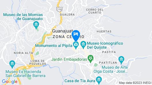Hotel Santa Regina Map