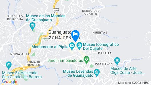 Hotel Casa Virreyes Map