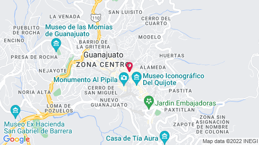 Edelmira Hotel Boutique Map