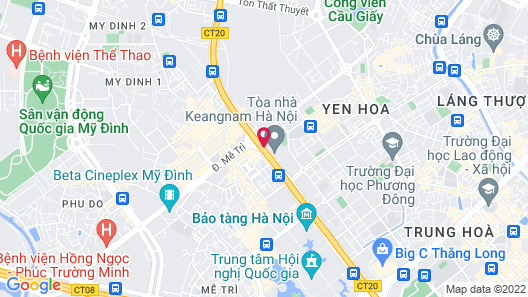 Calidas Landmark72 Royal Residence Hanoi Map