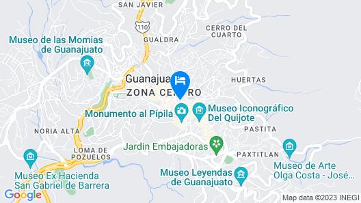 La Casona de Don Lucas Map