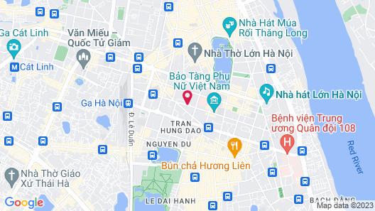 Melia Hanoi Map