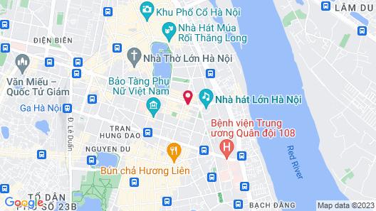 Hotel de l'Opera Hanoi - Mgallery Map
