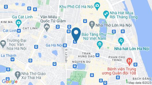 Mövenpick Hotel Hanoi Map