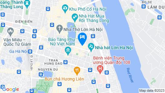 Sofitel Legend Metropole Hanoi Map