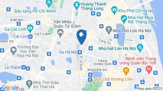 Mercure Hanoi La Gare Map