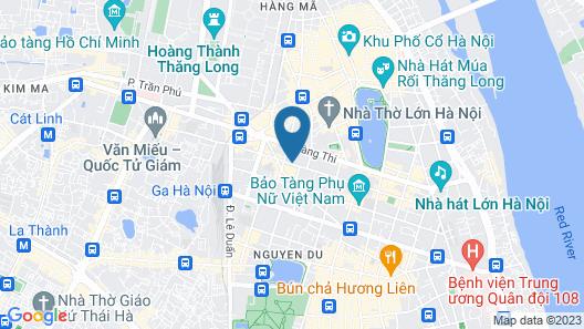 Somerset Grand Hanoi Map