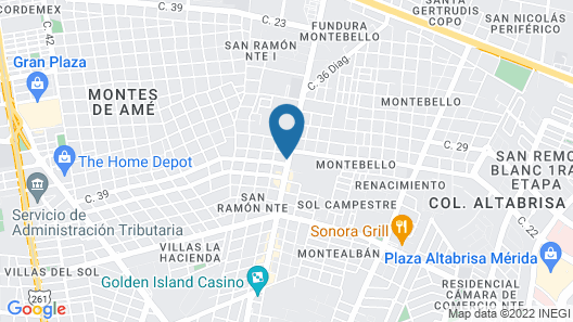 Capital O Luxury Apartments Map